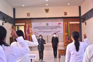 Pengambilan Sumpah/Janji PPPK di Pendopo Bupati Sintang