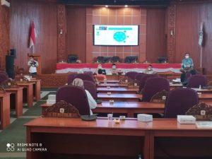 Setwan DPRD Depok Gelar Renja Secara Virtual Fokus Peningkatan Peran dan Fungsi DPRD Dalam Pembangunan