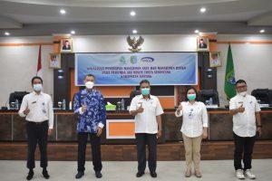 Sosialisasi Penerapan Manajemen Aset Dan Risiko Perumda Air Minum Tirta Senentang
