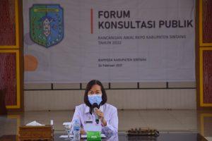PLH Bupati Sintang Pimpin Rapat Penyusunan RKPD Tahun 2022