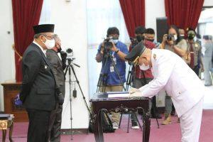 Pasangan H. Dadi-Kluisen Resmi Pimpin Kabupaten Melawi 5 Tahun Kedepan
