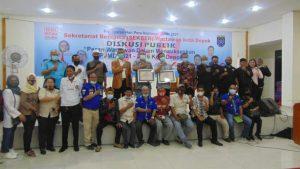Rangkaian HPN 2021, Ahli Pers Kamsul Hasan Hadiri Diskusi Publik