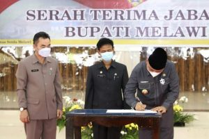 Serah Terima Jabatan Bupati Dan Wakil Bupati Melawi