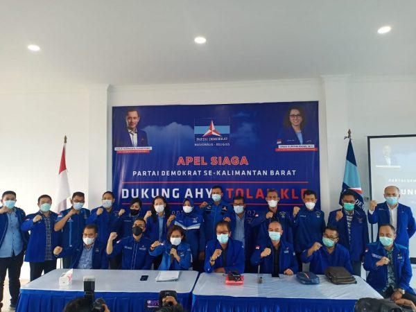 DPD Partai Demokrat Kalbar Melaksanakan Apel Siaga