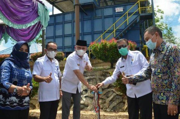 Bupati Melawi Launching Pelayanan 24 Jam PDAM Tirta Melawi
