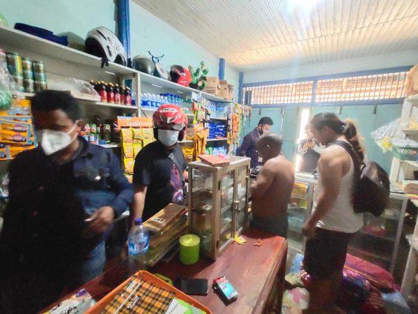 Reskrim Polres Melawi Menangkap Pelaku Perjudian Jenis Togel
