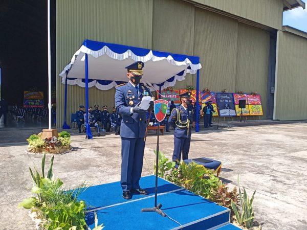 HUT ke-75, Deni ajak TNI AU Wujudkan Jiwa Kesatria, Militan, Loyal dan Profesional