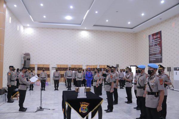 Kapolda Lampung Pimpin Sertijab Kapolres Lampung Timur