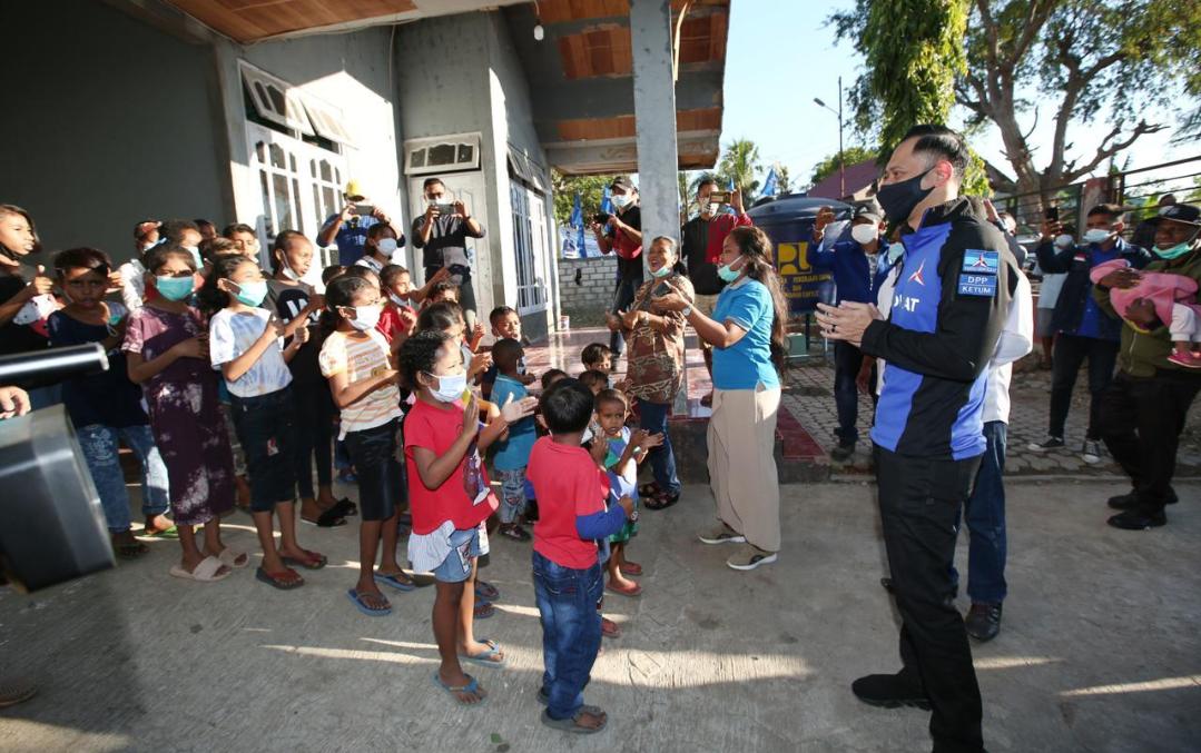 Hari Anak Nasional, AHY Ajak Orang Tua Jadi Garda Terdepan Lindungi Anak-anak Dari Virus Covid-19